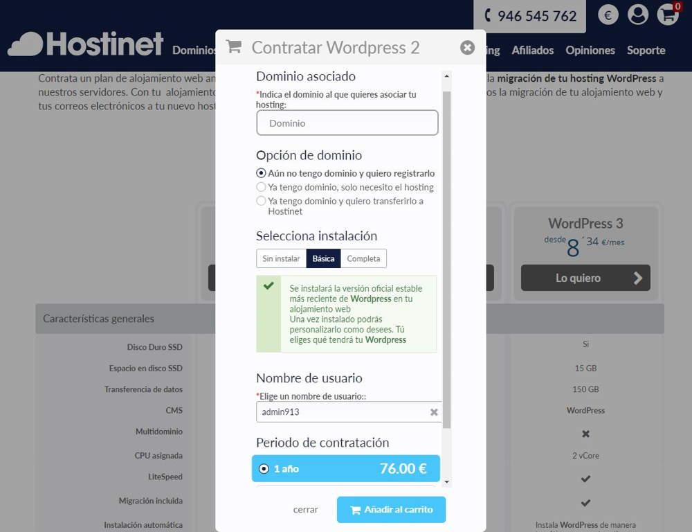 Contratar hosting para tu página web
