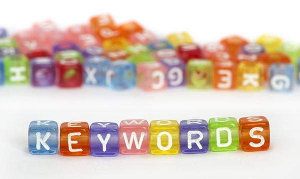 Cómo usar las palabras clave, las keywords, para el posicionamiento en Google.