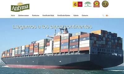Empresa de exportación internacional de productos de alimentación