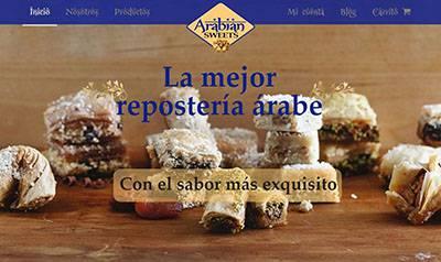 Tienda online de dulces árabes