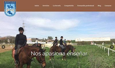 Hípica en Sevilla, escuela de equitación Riopudio