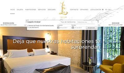 Hotel Legado Alcázar en Sevilla