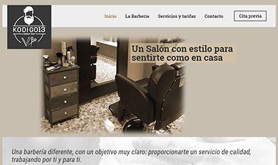 Peluquería en Sevilla Kodigo 13, con sistema de reserva online