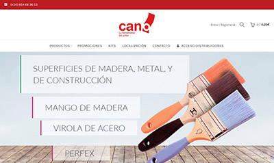 Tienda online de herramientas para el pintor